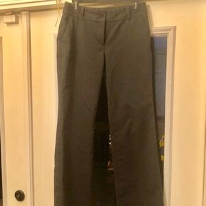 Talbots Heritage Fit Black Trousers Size 4p